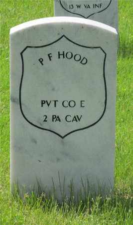 HOOD, P.F. - Franklin County, Ohio | P.F. HOOD - Ohio Gravestone Photos