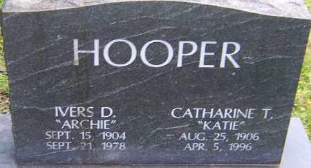 HOOPER, IVERS - Franklin County, Ohio | IVERS HOOPER - Ohio Gravestone Photos