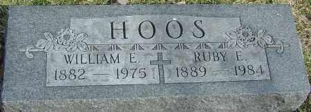 HOOS, WILLIAM E - Franklin County, Ohio | WILLIAM E HOOS - Ohio Gravestone Photos