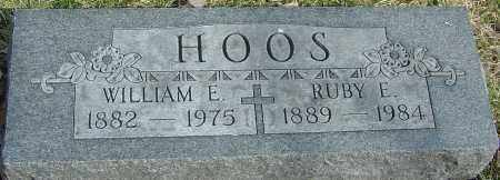 HOOS, RUBY E - Franklin County, Ohio | RUBY E HOOS - Ohio Gravestone Photos