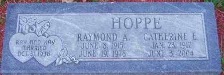 HOPPE, CATHERINE - Franklin County, Ohio | CATHERINE HOPPE - Ohio Gravestone Photos