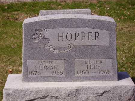 HOPPER, LUCY - Franklin County, Ohio | LUCY HOPPER - Ohio Gravestone Photos