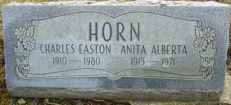 HORN, ANITA ALBERTA - Franklin County, Ohio | ANITA ALBERTA HORN - Ohio Gravestone Photos