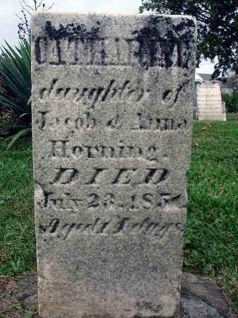 HORNING, CATHARINE - Franklin County, Ohio | CATHARINE HORNING - Ohio Gravestone Photos