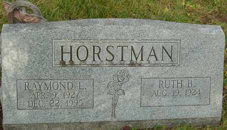 HORSTMAN, RAYMOND - Franklin County, Ohio | RAYMOND HORSTMAN - Ohio Gravestone Photos