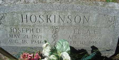 EMERY HOSKINSON, ELLA E - Franklin County, Ohio | ELLA E EMERY HOSKINSON - Ohio Gravestone Photos