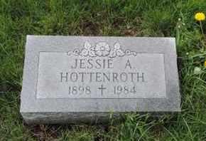 HOTTENROTH, JESSIE A. - Franklin County, Ohio   JESSIE A. HOTTENROTH - Ohio Gravestone Photos