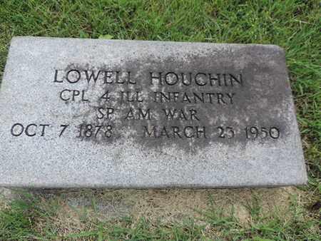 HOUCHIN, LOWELL - Franklin County, Ohio   LOWELL HOUCHIN - Ohio Gravestone Photos