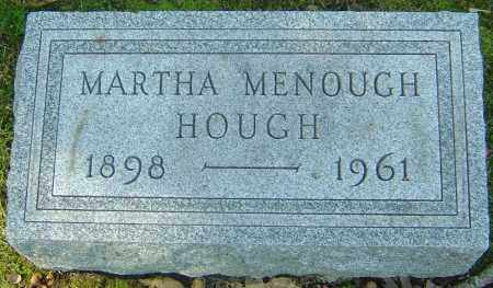 HOUGH, MARTHA - Franklin County, Ohio | MARTHA HOUGH - Ohio Gravestone Photos