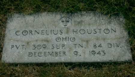 HOUSTON, CORNELIUS - Franklin County, Ohio   CORNELIUS HOUSTON - Ohio Gravestone Photos
