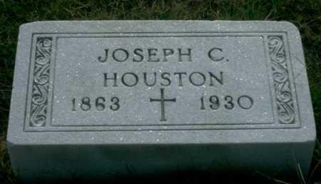 HOUSTON, JOSEPH C - Franklin County, Ohio   JOSEPH C HOUSTON - Ohio Gravestone Photos