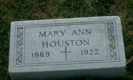 HOUSTON, MARY ANN - Franklin County, Ohio   MARY ANN HOUSTON - Ohio Gravestone Photos