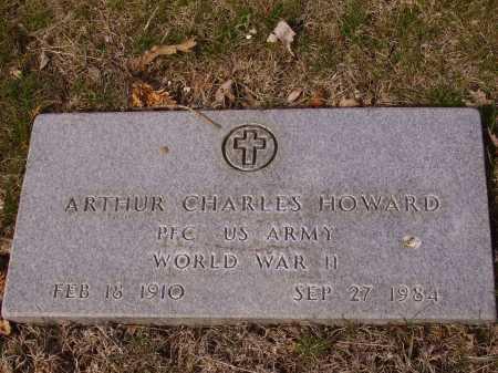 HOWARD, ARTHUR CHARLES - MILITARY - Franklin County, Ohio | ARTHUR CHARLES - MILITARY HOWARD - Ohio Gravestone Photos
