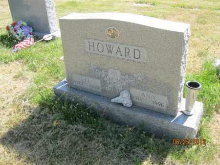 HOWARD, ANN - Franklin County, Ohio | ANN HOWARD - Ohio Gravestone Photos