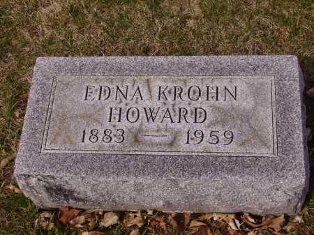 HOWARD, EDNA - Franklin County, Ohio | EDNA HOWARD - Ohio Gravestone Photos