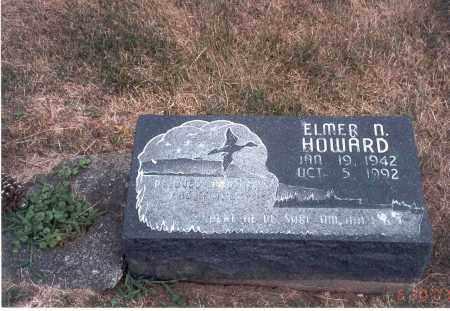 HOWARD, ELMER N. - Franklin County, Ohio | ELMER N. HOWARD - Ohio Gravestone Photos