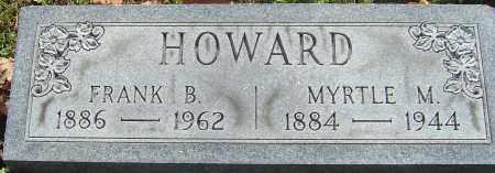 HOWARD, MYRTLE MAE - Franklin County, Ohio | MYRTLE MAE HOWARD - Ohio Gravestone Photos