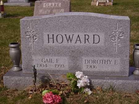 HOWARD, GAIL F. - Franklin County, Ohio | GAIL F. HOWARD - Ohio Gravestone Photos