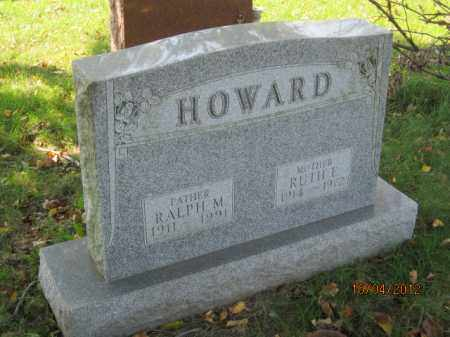 BRENIZER HOWARD, RUTH E - Franklin County, Ohio | RUTH E BRENIZER HOWARD - Ohio Gravestone Photos