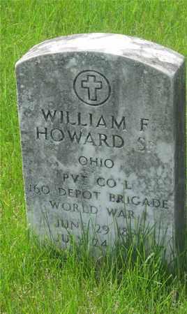 HOWARD, WILLIAM F. - Franklin County, Ohio | WILLIAM F. HOWARD - Ohio Gravestone Photos