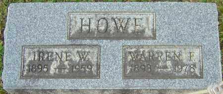 HOWE, IRENE - Franklin County, Ohio | IRENE HOWE - Ohio Gravestone Photos