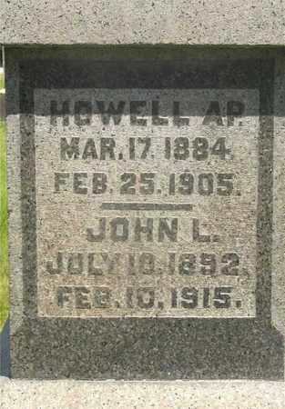 HOWELL, JOHN L. - Franklin County, Ohio | JOHN L. HOWELL - Ohio Gravestone Photos
