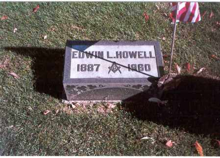 HOWELL, EDWIN L. - Franklin County, Ohio | EDWIN L. HOWELL - Ohio Gravestone Photos