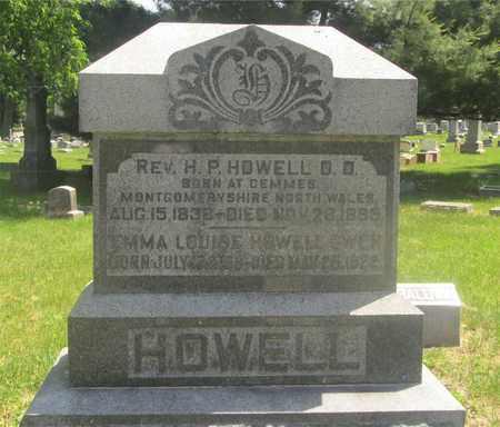HOWELL, H.P, D.D. - Franklin County, Ohio | H.P, D.D. HOWELL - Ohio Gravestone Photos