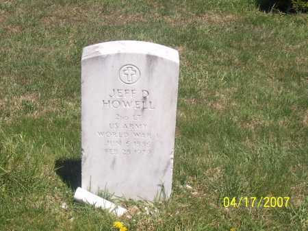 HOWELL, JEFF D - Franklin County, Ohio | JEFF D HOWELL - Ohio Gravestone Photos