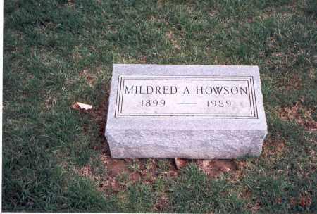 HOWSON, MILDRED A. - Franklin County, Ohio | MILDRED A. HOWSON - Ohio Gravestone Photos