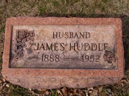 HUDDLE, JAMES - Franklin County, Ohio | JAMES HUDDLE - Ohio Gravestone Photos