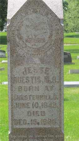 HUESTIS, JESSE - Franklin County, Ohio   JESSE HUESTIS - Ohio Gravestone Photos