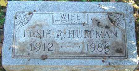 HUFFMAN, ELSIE R - Franklin County, Ohio | ELSIE R HUFFMAN - Ohio Gravestone Photos