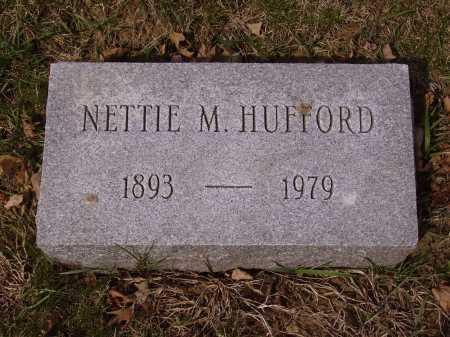 HUFFORD, NETTIE M. - Franklin County, Ohio | NETTIE M. HUFFORD - Ohio Gravestone Photos