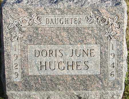 HUGHES, DORIS JUNE - Franklin County, Ohio | DORIS JUNE HUGHES - Ohio Gravestone Photos