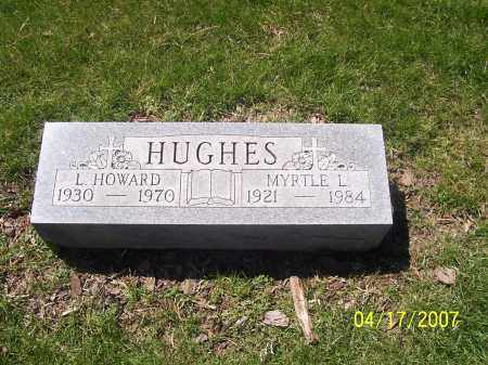 HUGHES, MYRTLE L - Franklin County, Ohio | MYRTLE L HUGHES - Ohio Gravestone Photos