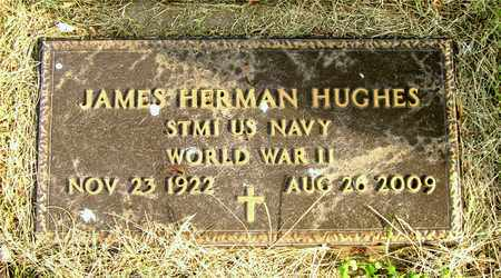 HUGHES, JAMES HERMAN - Franklin County, Ohio | JAMES HERMAN HUGHES - Ohio Gravestone Photos