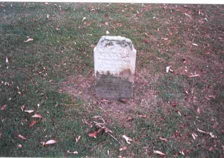 HUGHES, MARY - Franklin County, Ohio | MARY HUGHES - Ohio Gravestone Photos
