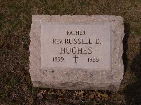HUGHES, RUSSELL D. - Franklin County, Ohio | RUSSELL D. HUGHES - Ohio Gravestone Photos