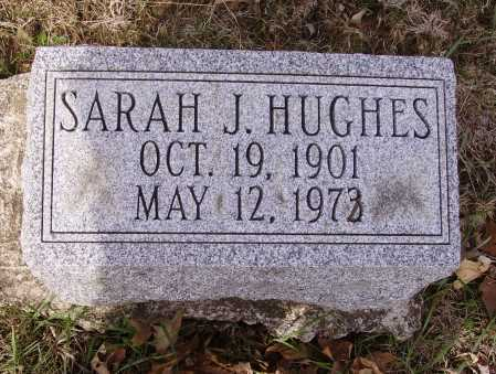 HUGHES, SARAH J. - Franklin County, Ohio | SARAH J. HUGHES - Ohio Gravestone Photos