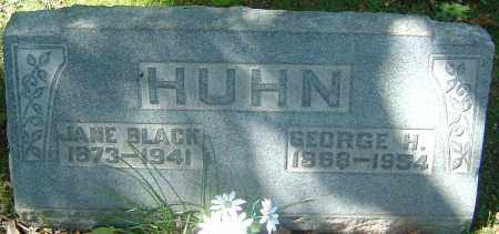 HUHN, JANE - Franklin County, Ohio | JANE HUHN - Ohio Gravestone Photos