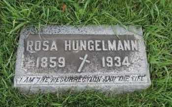 HUNGELMANN, ROSA - Franklin County, Ohio | ROSA HUNGELMANN - Ohio Gravestone Photos
