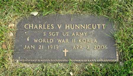 HUNNICUTT, CHARLES V. - Franklin County, Ohio   CHARLES V. HUNNICUTT - Ohio Gravestone Photos