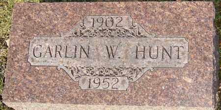 HUNT, GARLIN - Franklin County, Ohio | GARLIN HUNT - Ohio Gravestone Photos