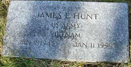 HUNT, JAMES E - Franklin County, Ohio   JAMES E HUNT - Ohio Gravestone Photos