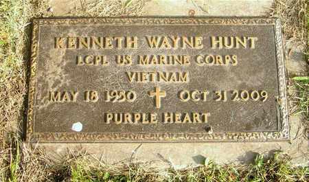 HUNT, KENNETH WAYNE - Franklin County, Ohio | KENNETH WAYNE HUNT - Ohio Gravestone Photos