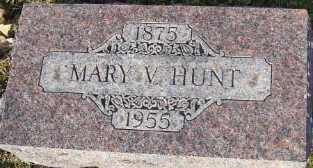 HUNT, MARY V - Franklin County, Ohio   MARY V HUNT - Ohio Gravestone Photos