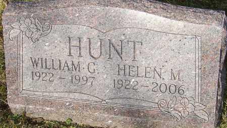 HUNT, WILLIAM G - Franklin County, Ohio | WILLIAM G HUNT - Ohio Gravestone Photos