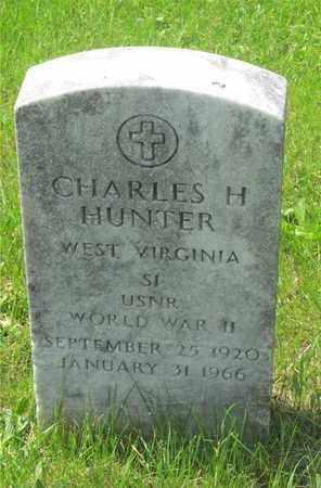 HUNTER, CHARLES H. - Franklin County, Ohio   CHARLES H. HUNTER - Ohio Gravestone Photos