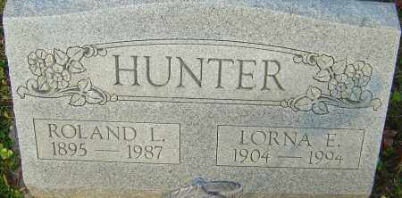 HUNTER, ROLAND - Franklin County, Ohio | ROLAND HUNTER - Ohio Gravestone Photos